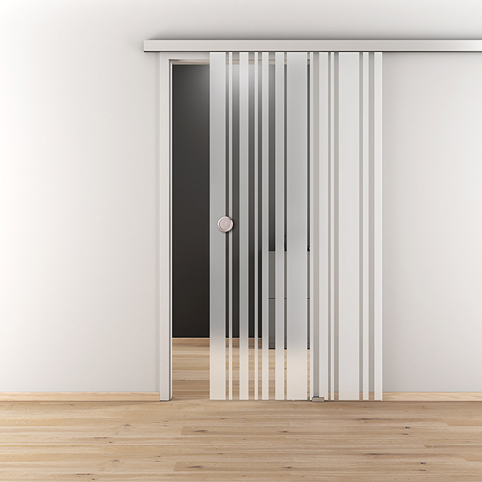 Vetro Per Porta Scorrevole.Diamond Doors Porta Scorrevole In Vetro Homely Stripes